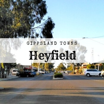 Main street of Heyfield