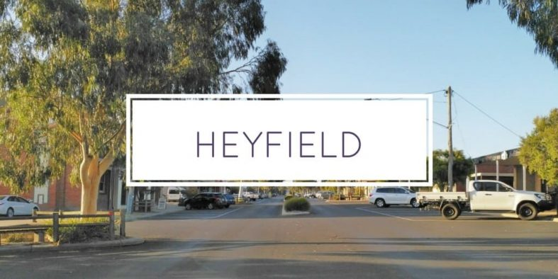 Gippsland Towns – Heyfield