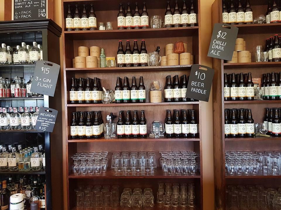 Inside Loch Brewery