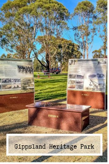 Things to do in Gippsland, Gippsland Heritage Park at Lake Kernott in Morwell Museum | Gippsland | Gippsland fishing | heritage | Latrobe Valley | Victoria | Victoria Australia #Gippsland #Australia #Morwell via @wyldfamtravel