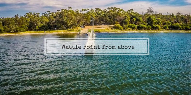 Wattle Point from above