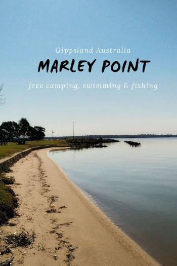Marley Point on Lake Wellington - Travels in Gippsland