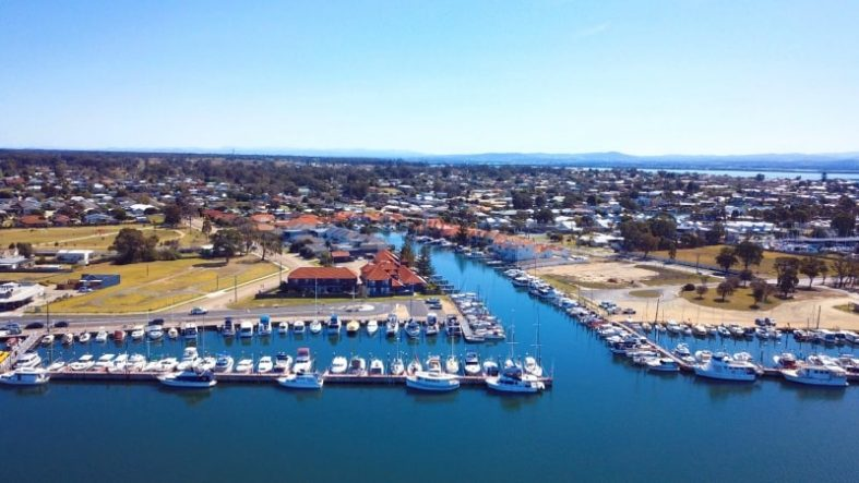 Paynesville on the Gippsland Lakes