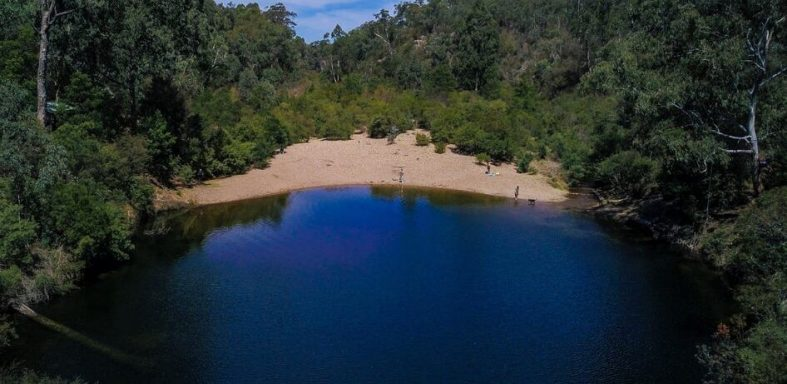 The Blue Pools Briagolong Gippsland Australia