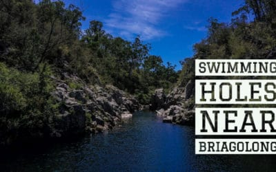 Bush swimming at Briagolong