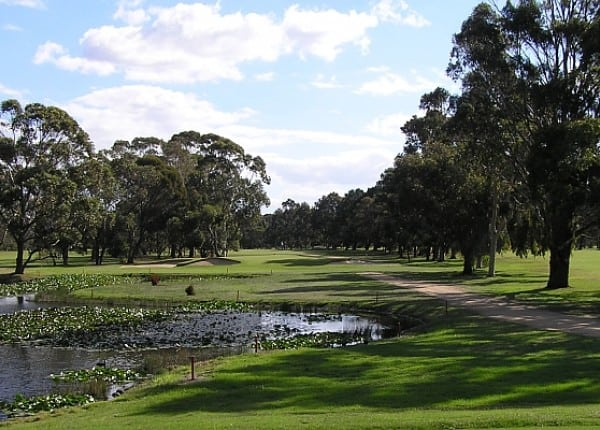 Bairnsdale golf course