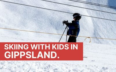 Skiing with kids in Gippsland