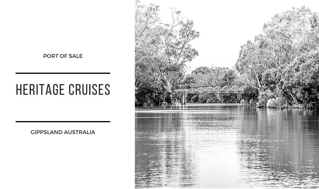 Port of Sale Heritage Cruise