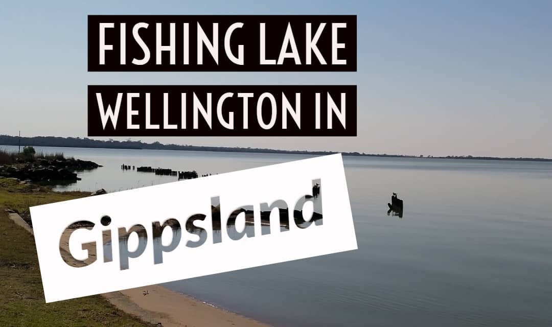 Fishing at Lake Wellington