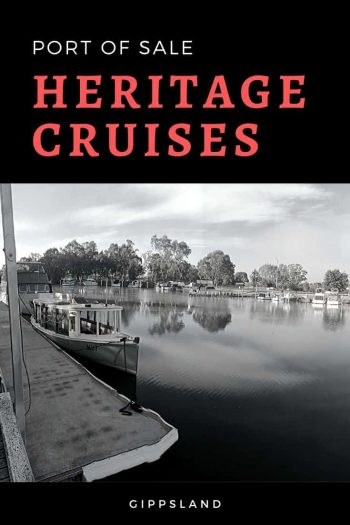 Port of Sale Heritage Cruises are fast becoming one of Gippsland's best attractions Cruise | Heritage | Port Of Sale | Gippsland | Gippsland Victoria | Gippsland Victoria Australia | Gippsland attractions | things to do in Gippsland | via @wyldfamtravel