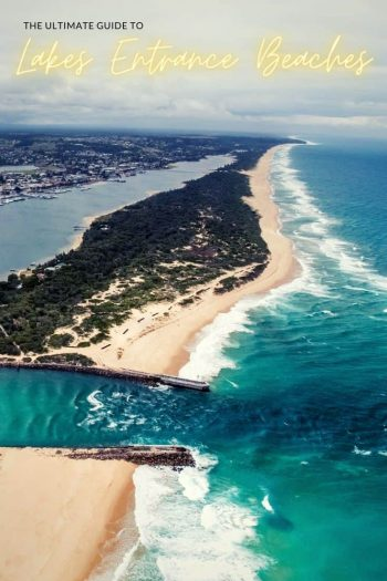 The best beaches in Lakes Entrance Our Lakes Entrance Becah guide gives you a rundown on 4 beaches in and around the town Gippsland | 90 Mile Beach | Australia | Surf | Things to do in Lakes Entrance | Lakes Entrance attraction | via @wyldfamtravel